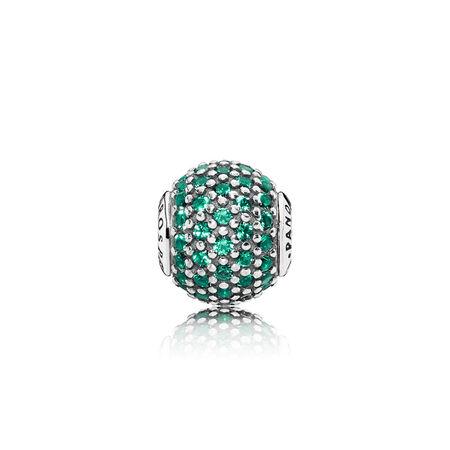 PROSPERITY Charm, Green Crystal