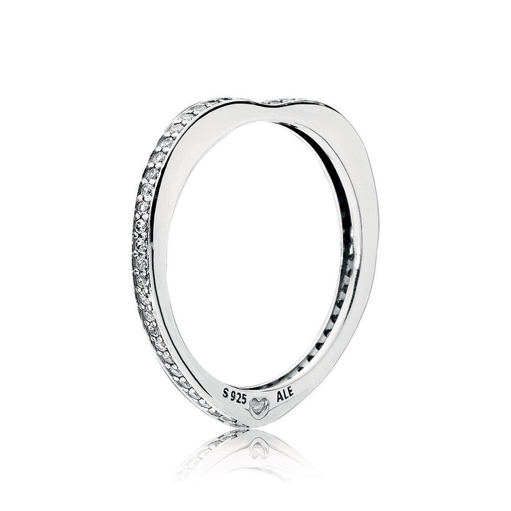 Pandora Ring 197133Stackable Signature Hearts of Pandora Z5HHQHgH