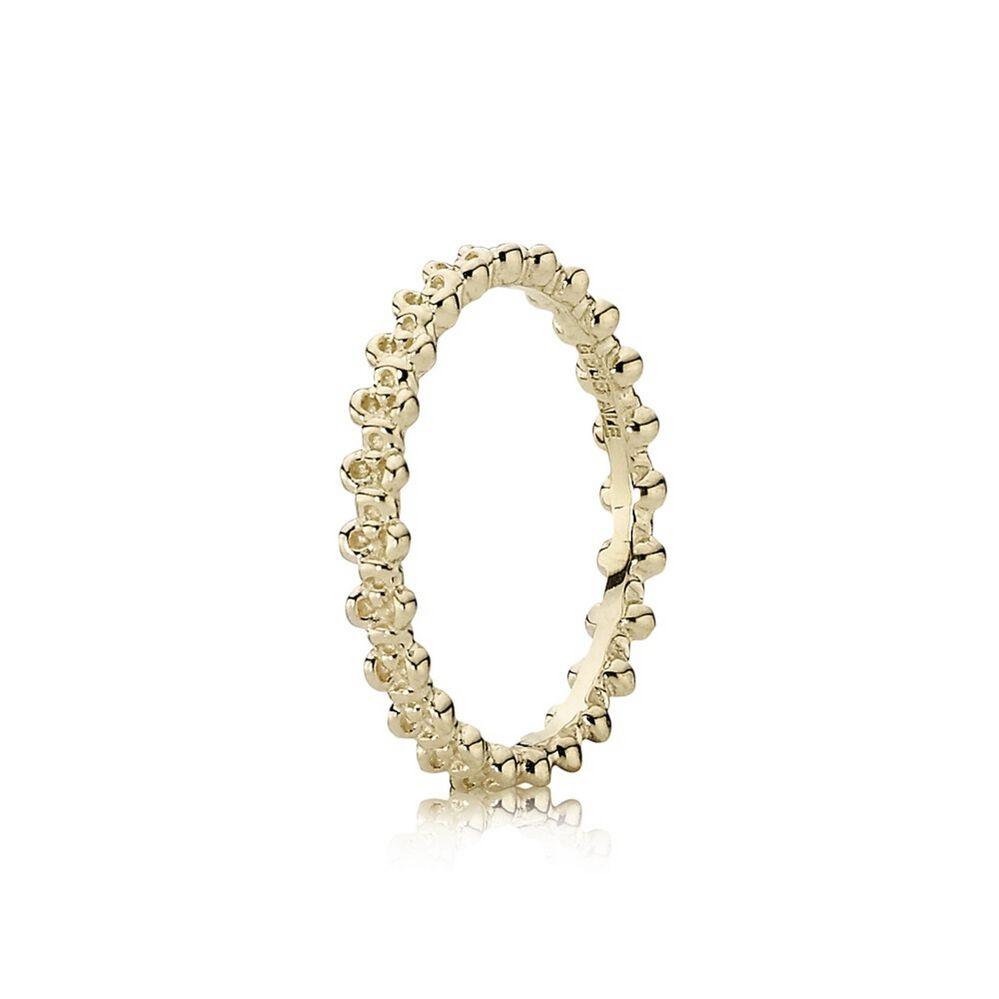 gold pandora ring