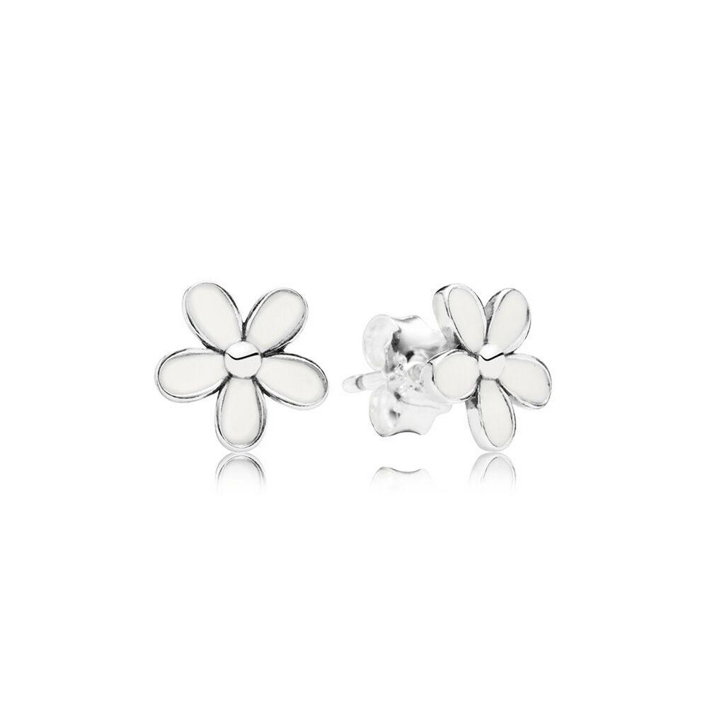 pandora daisy earrings