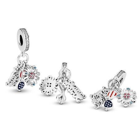 American Icons Dangle Charm