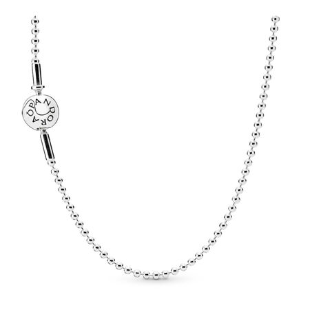 PANDORA ESSENCE COLLECTION Beaded Necklace, Sterling silver - PANDORA - #596005