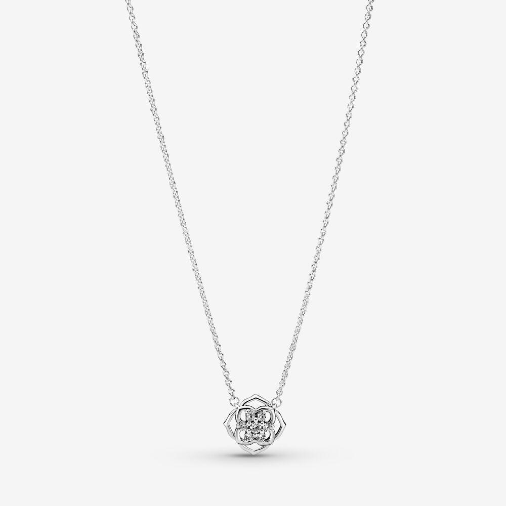 Rose Petals Collier Necklace | Sterling silver | Pandora US