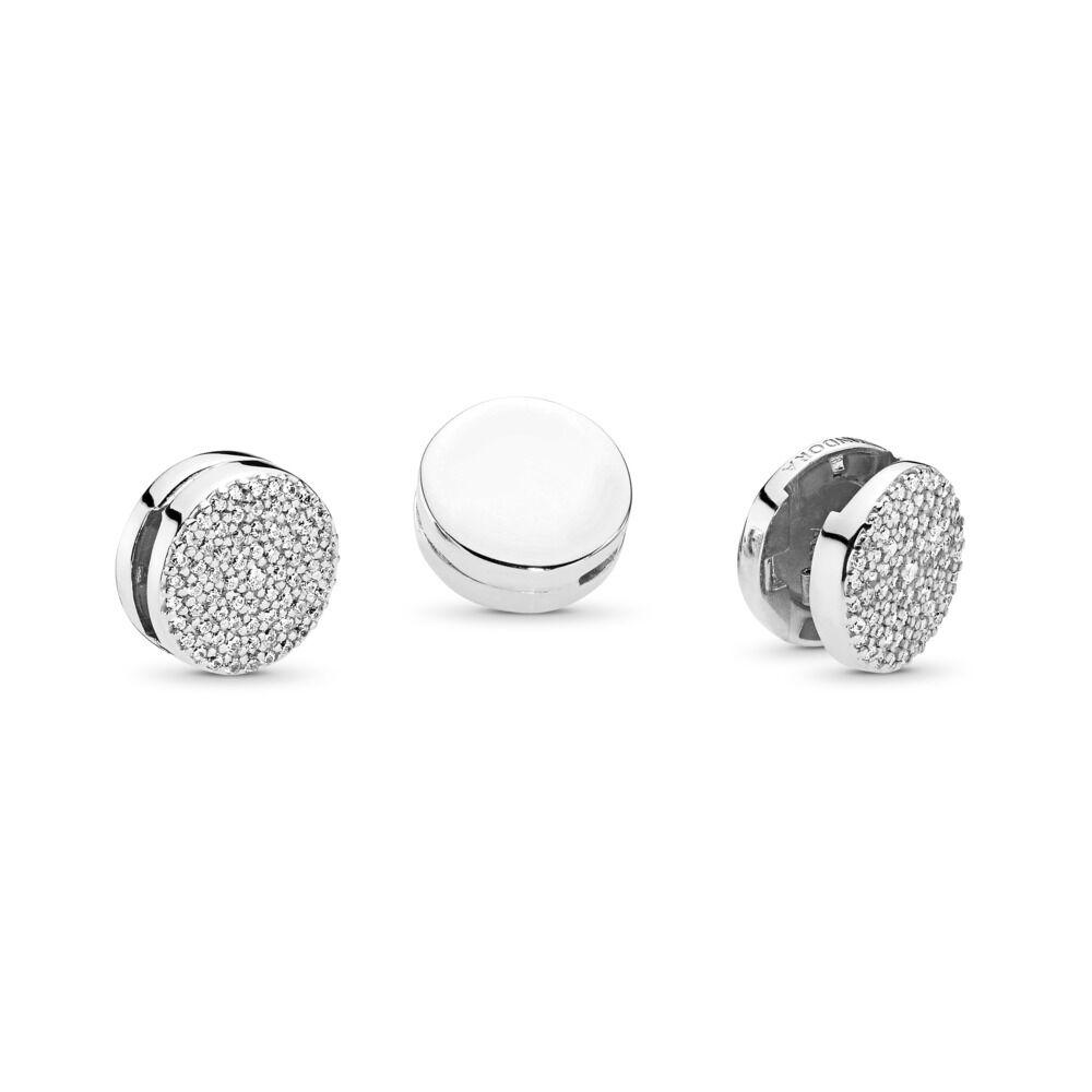 e5f0a6430 PANDORA Reflexions™ Dazzling Elegance Clip Charm, Clear CZ