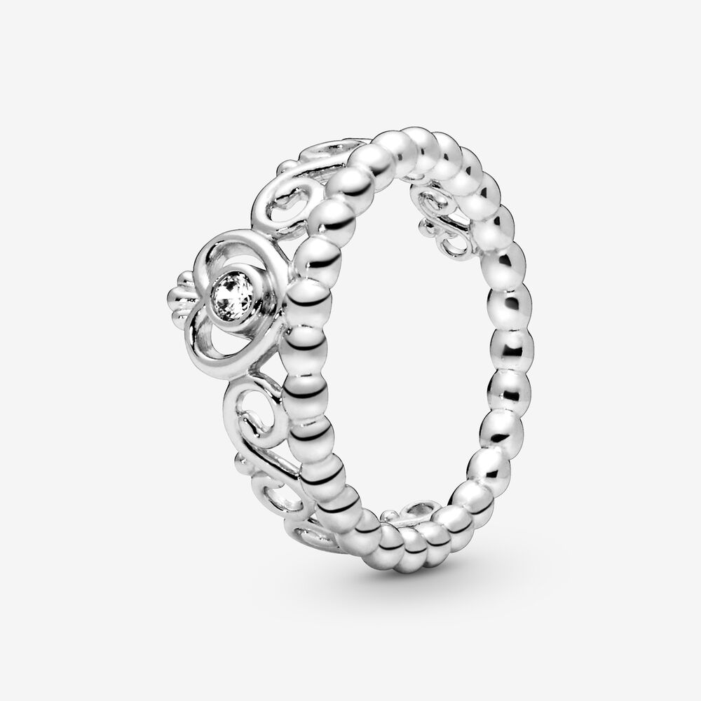 My Princess Stackable Ring With Cubic Zirconia Silver Pandora Us