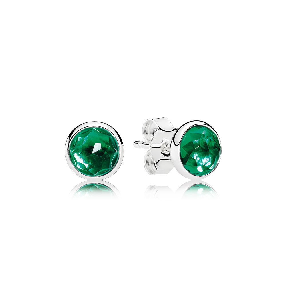 yellow engagement simulated ct from emerald nano earrings stud round in jewelry gemstoneking green for women gold item
