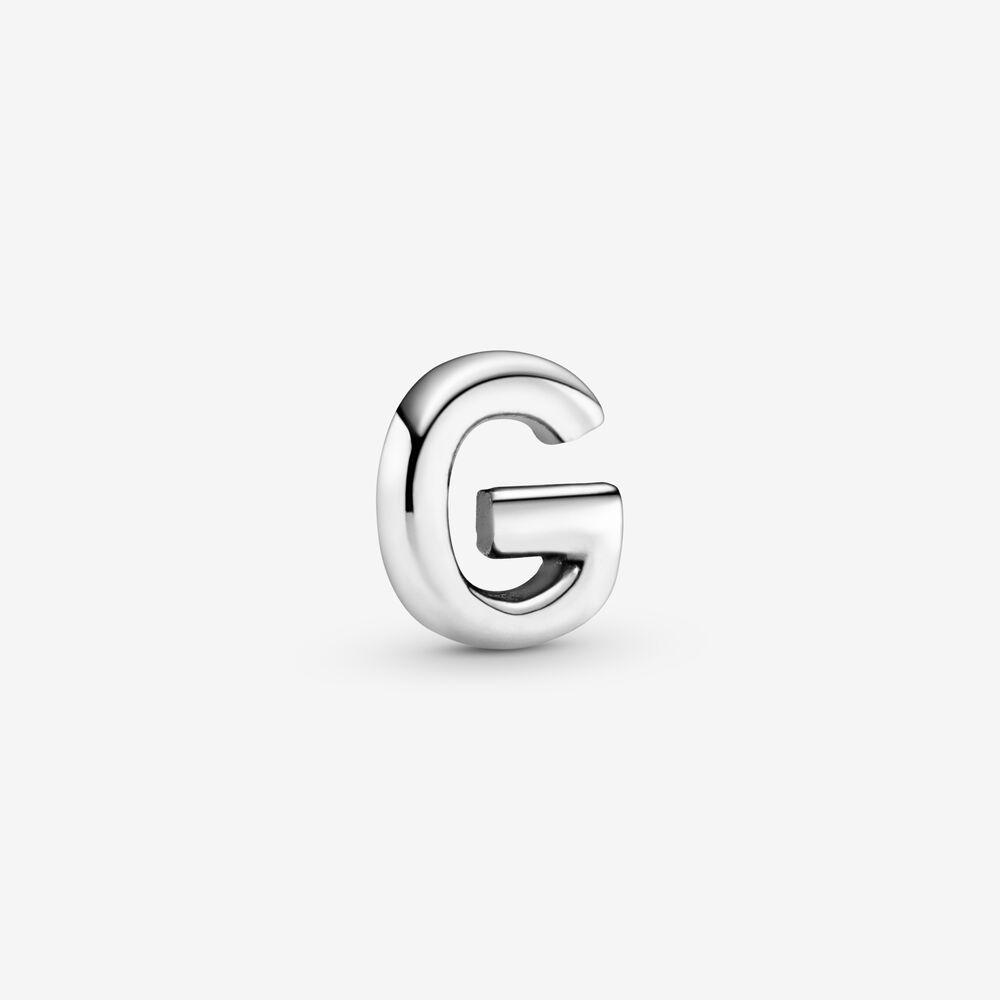 Letter G Alphabet Locket Element