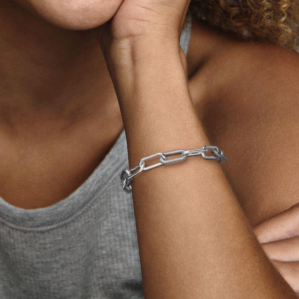 Pandora Me Slender Link Bracelet | Sterling silver | Pandora US