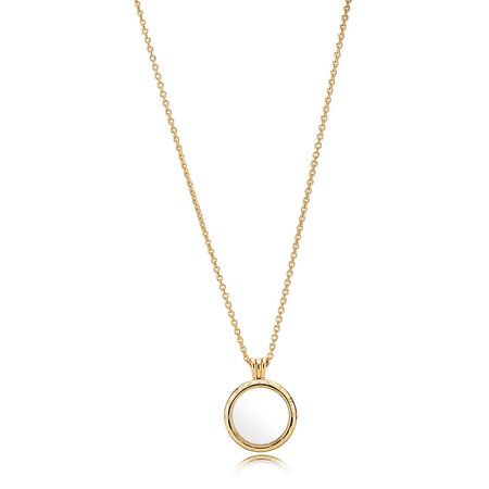 PANDORA Floating Locket Necklace, PANDORA Shine™
