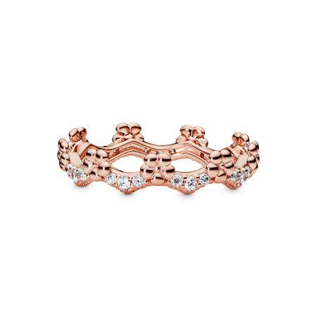 Flower Crown Ring, Pandora Rose™