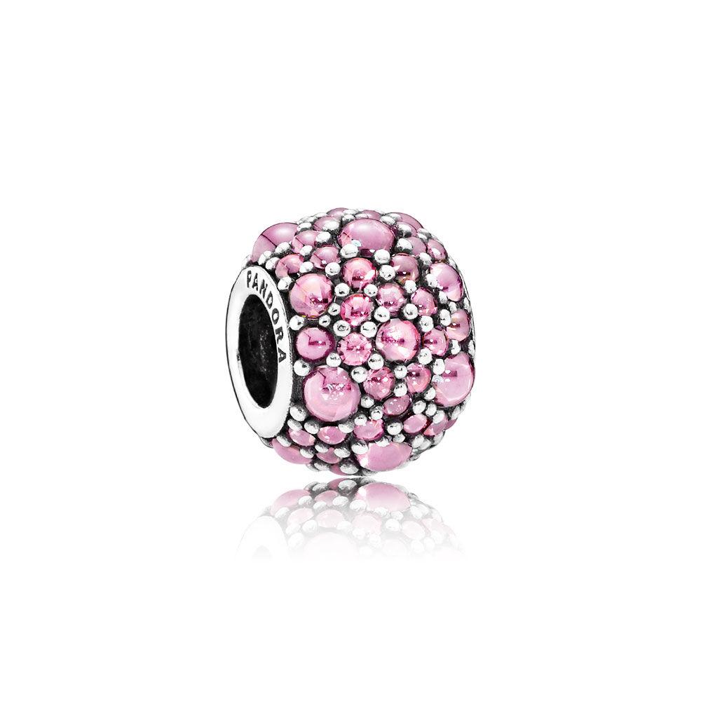 da07abf34 shopping pandora pink delicate rose charm 791527en40 34094 235ef; ebay  shimmering droplets charm pink cz de07d 6c0be