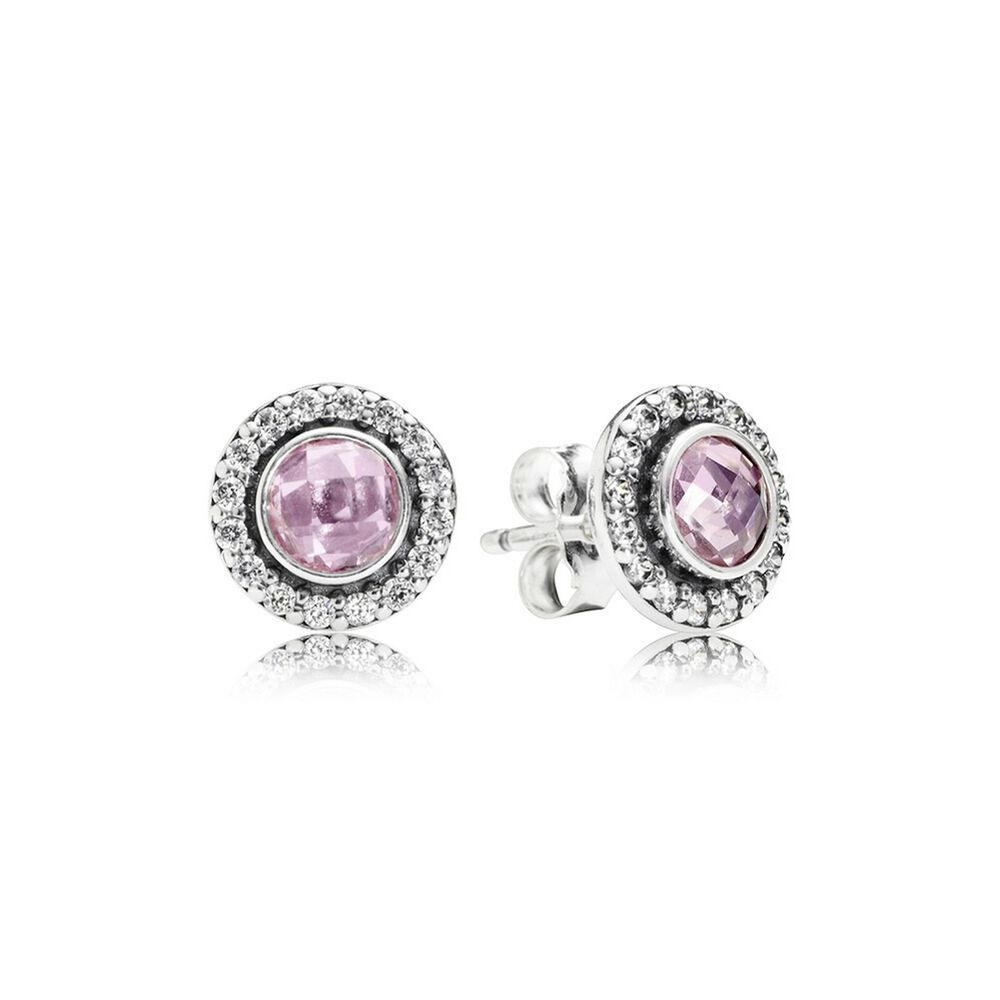 tourmaline gold rose earrings embers by product original pink birthstone stud
