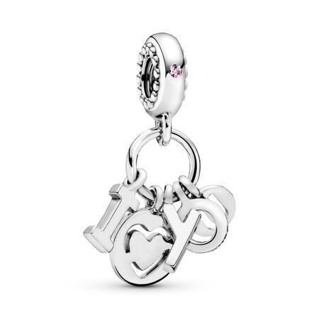 I Love You Letters Dangle Charm