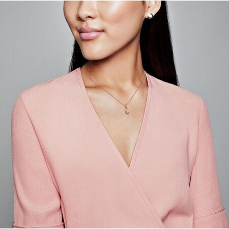 Lucky Pink Ladybird Pendant, Pandora Rose™