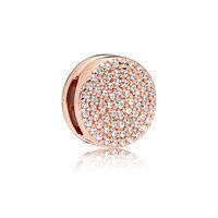 PANDORA Reflexions™ Dazzling Elegance Charm, PANDORA Rose™ & Clear CZ