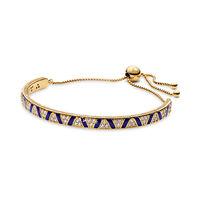 Exotic Stones & Stripes Bracelet, Pandora Shine™