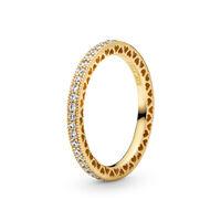 Hearts of PANDORA Ring, PANDORA Shine™ & Clear CZ