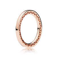 Classic Hearts of PANDORA Ring, PANDORA Rose™