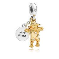 Scarecrow Guardian Dangle Charm, PANDORA Shine™ & Clear CZ