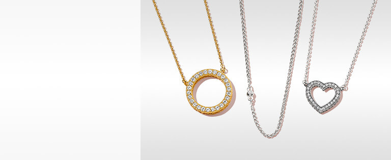 Necklaces for her shop the collection pandora jewelry us necklaces aloadofball