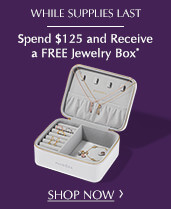Get a free PANDORA jewelry case with $125 purchase in-store and online while supplies last. Read the terms and conditions.