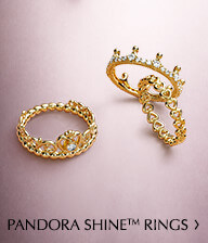 Pandora Shine Rings. Shop Now.