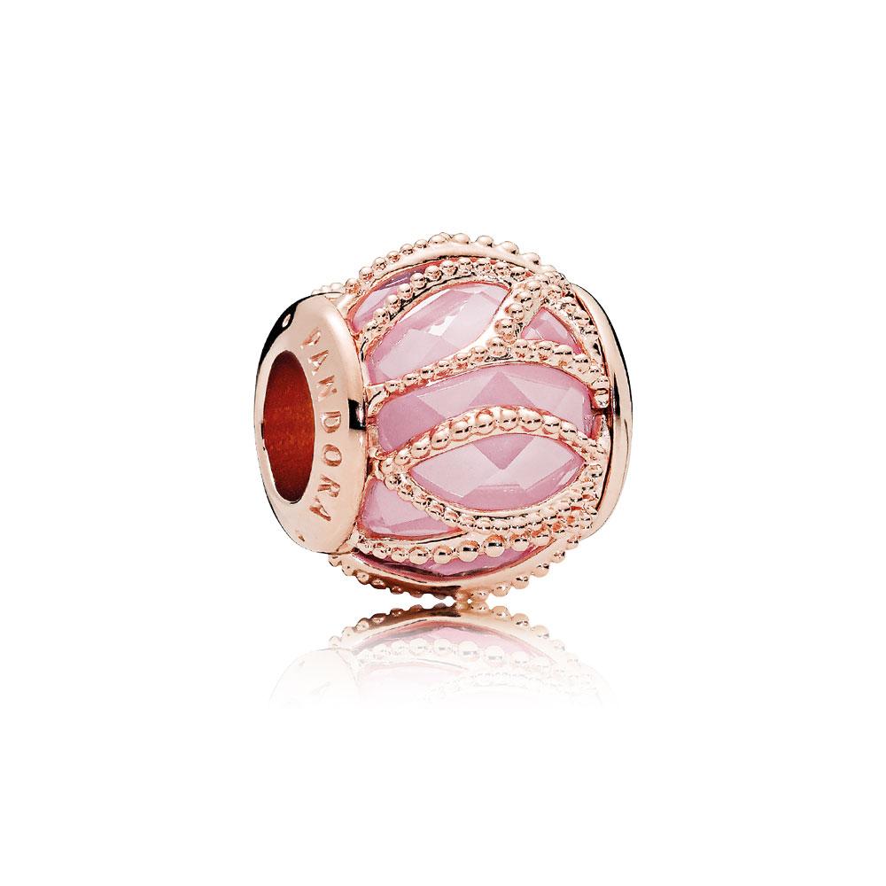 Intertwining Radiance Charm, PANDORA Rose™ & Pink CZ
