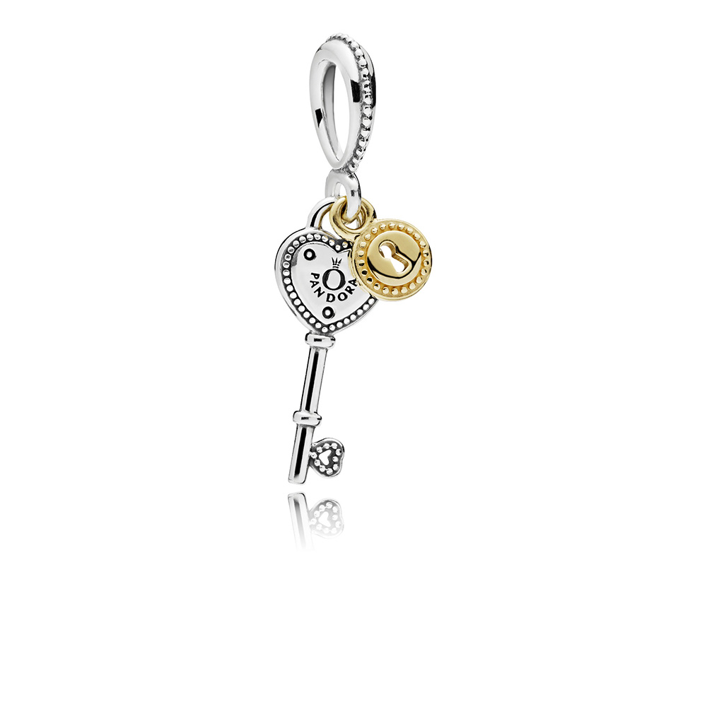 Key to My Heart Dangle Charm