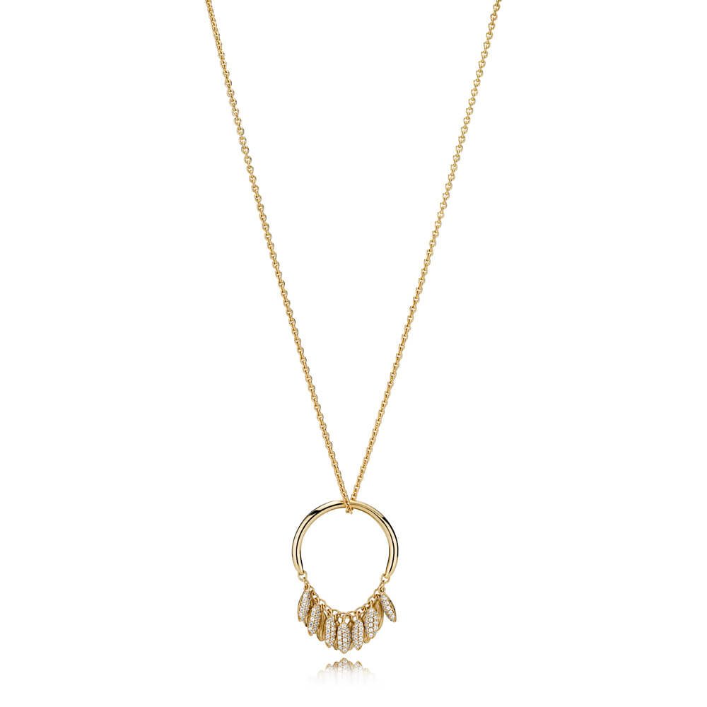 Limited Edition Circle of Seeds Necklace, PANDORA Shine™ & Clear CZ