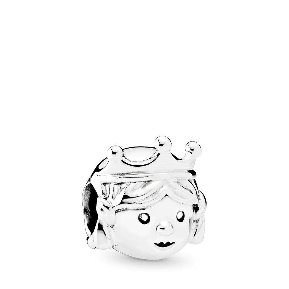 Precious Princess Charm, Sterling silver - PANDORA - #791960