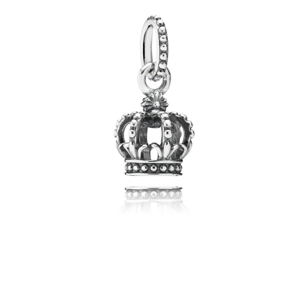 Noble Splendor Crown Dangle Charm