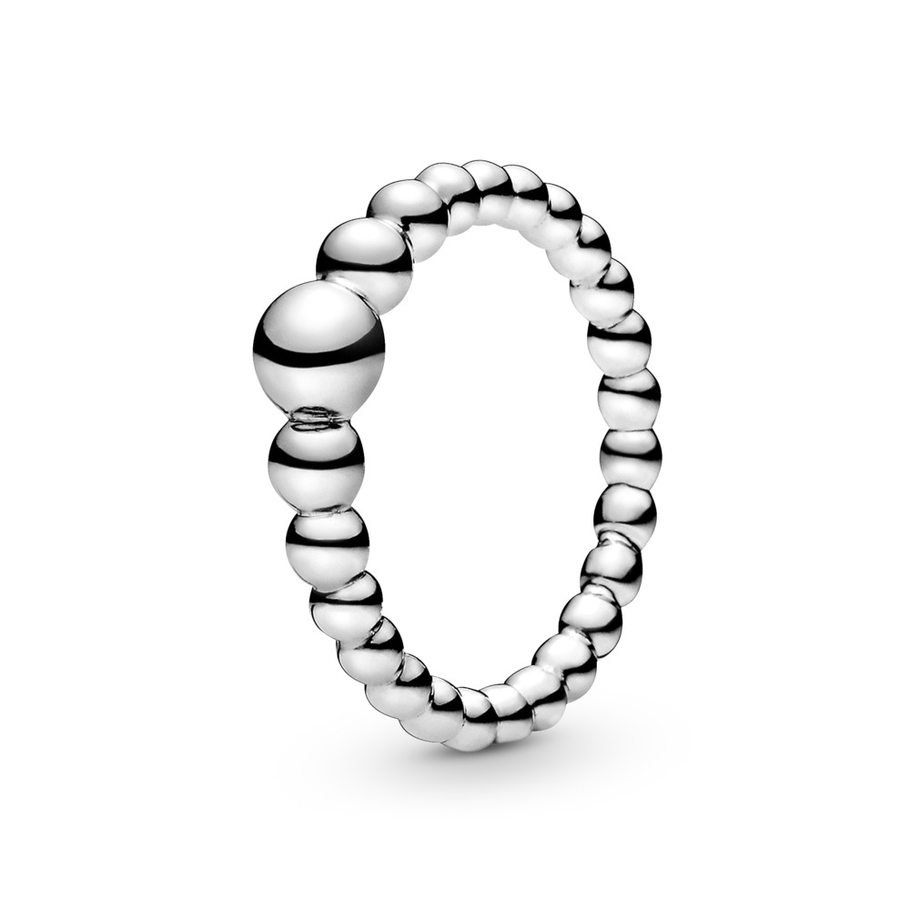 String of Beads Ring, Sterling silver - PANDORA - #197536