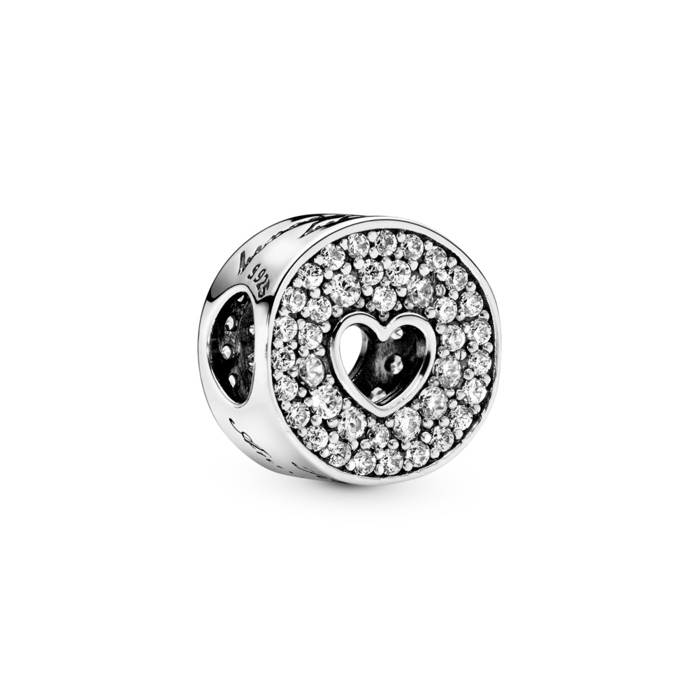 Anniversary Celebration, Clear CZ, Sterling silver, Cubic Zirconia - PANDORA - #791977CZ