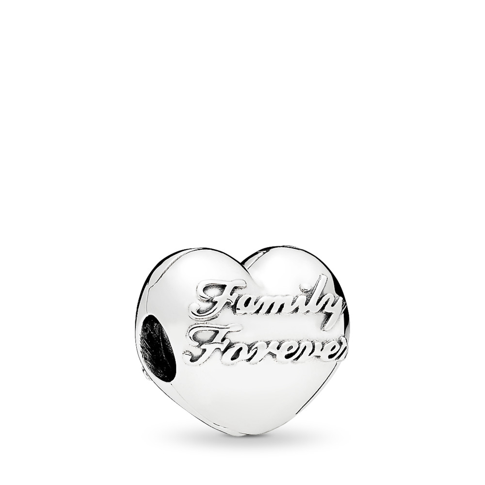 Family Union Clip, Sterling silver - PANDORA - #796204