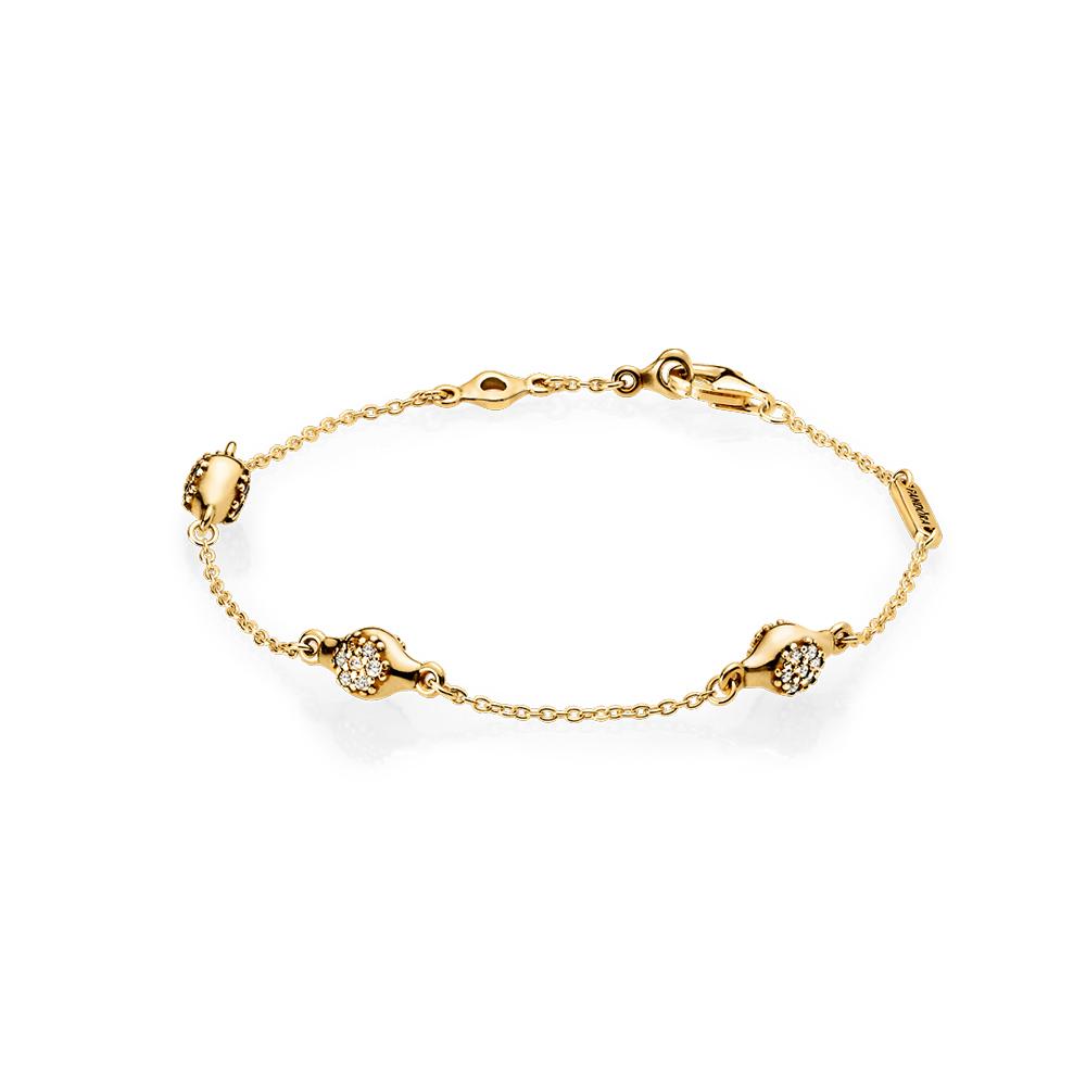 Modern LovePods™ Bracelet, PANDORA Shine™ & Clear CZ