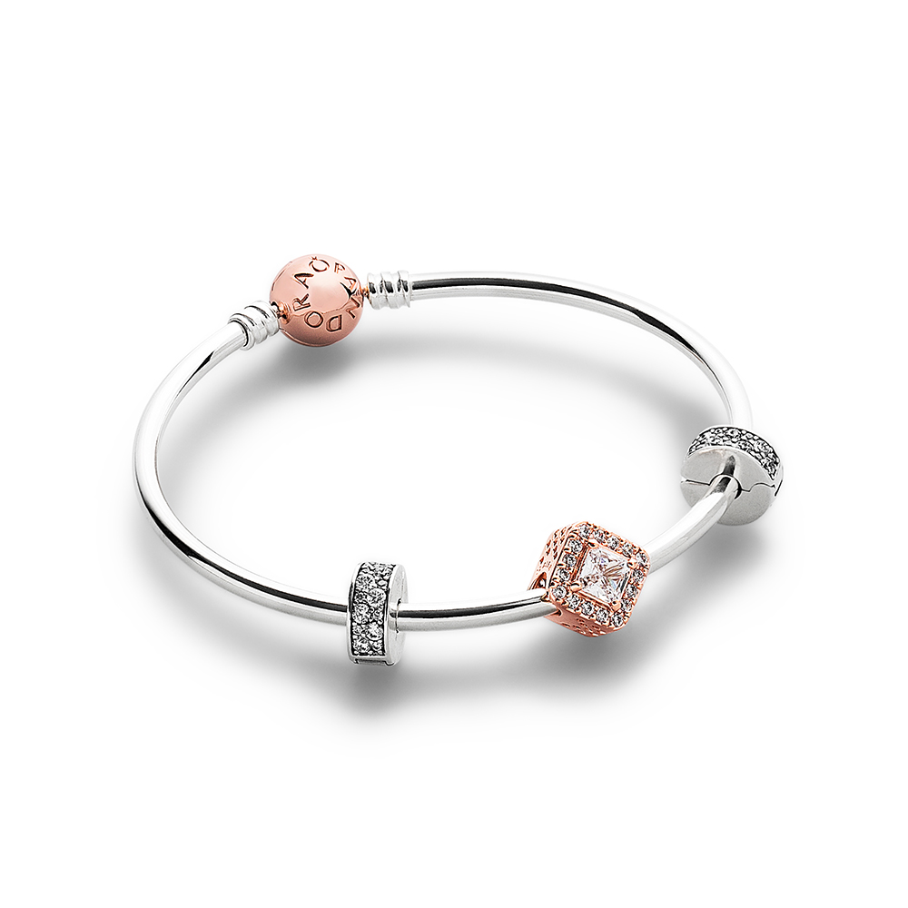 The Sparkle of My Eye PANDORA Rose‌™ Bracelet Set