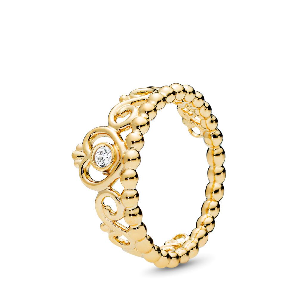 My Princess Tiara Ring, PANDORA Shine™ & Clear CZ