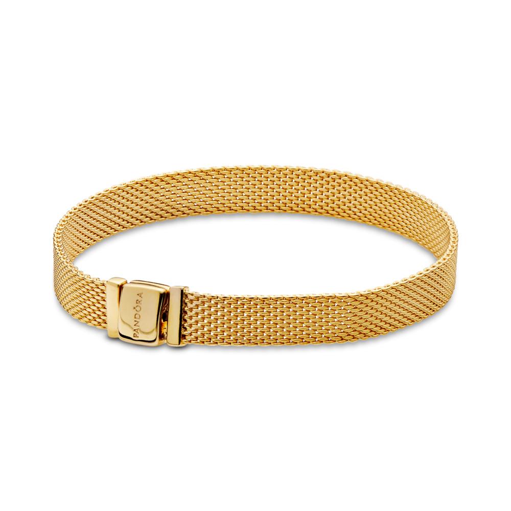 PANDORA Reflexions™ Bracelet, PANDORA Shine™, 18ct Gold Plated - PANDORA - #567712