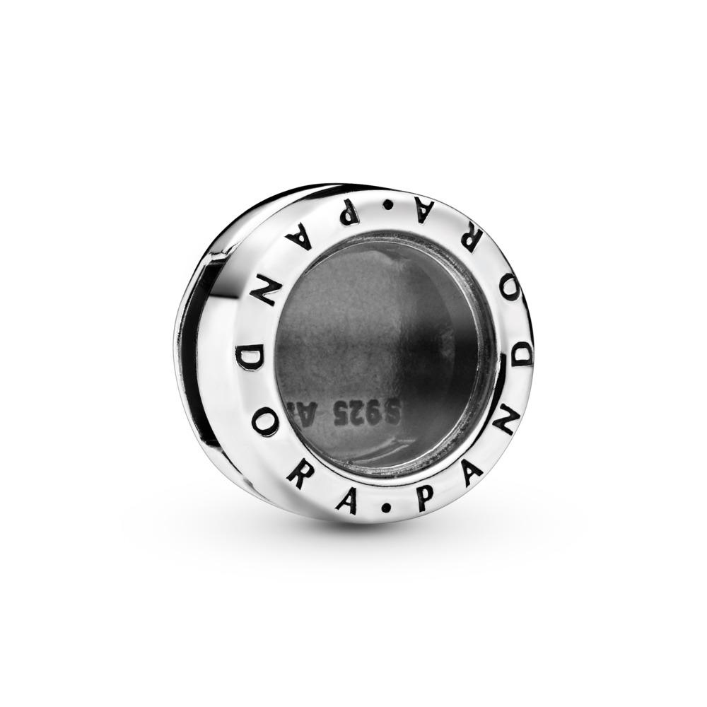 PANDORA Reflexions™ Locket Clip Charm, Sterling silver, Glass - PANDORA - #797755