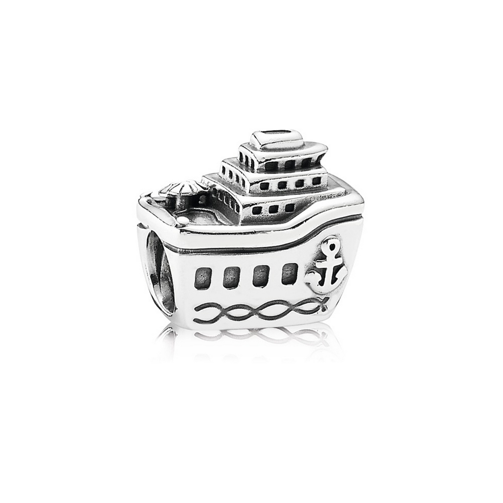 All Aboard Cruise Ship Charm