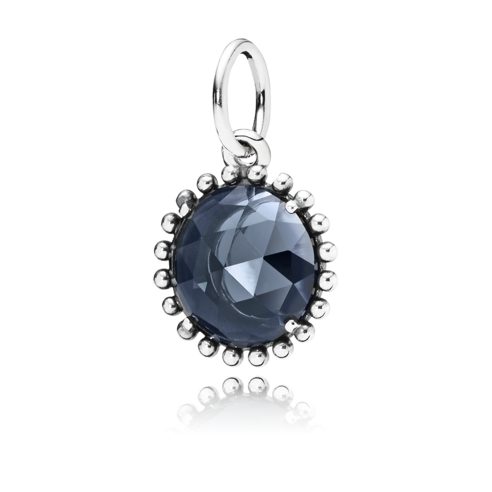 Midnight Star Pendant, Midnight Blue Crystal