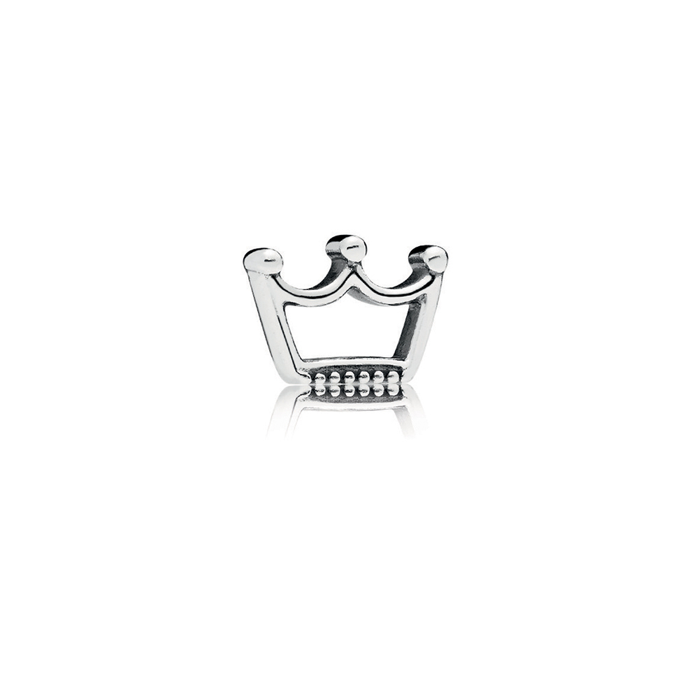 Crown Petite Locket Charm
