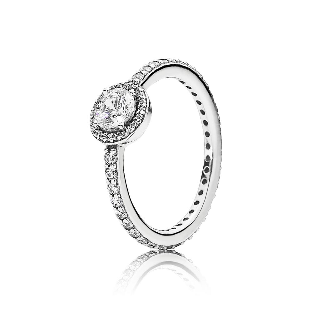 Classic Elegance Ring, Clear CZ