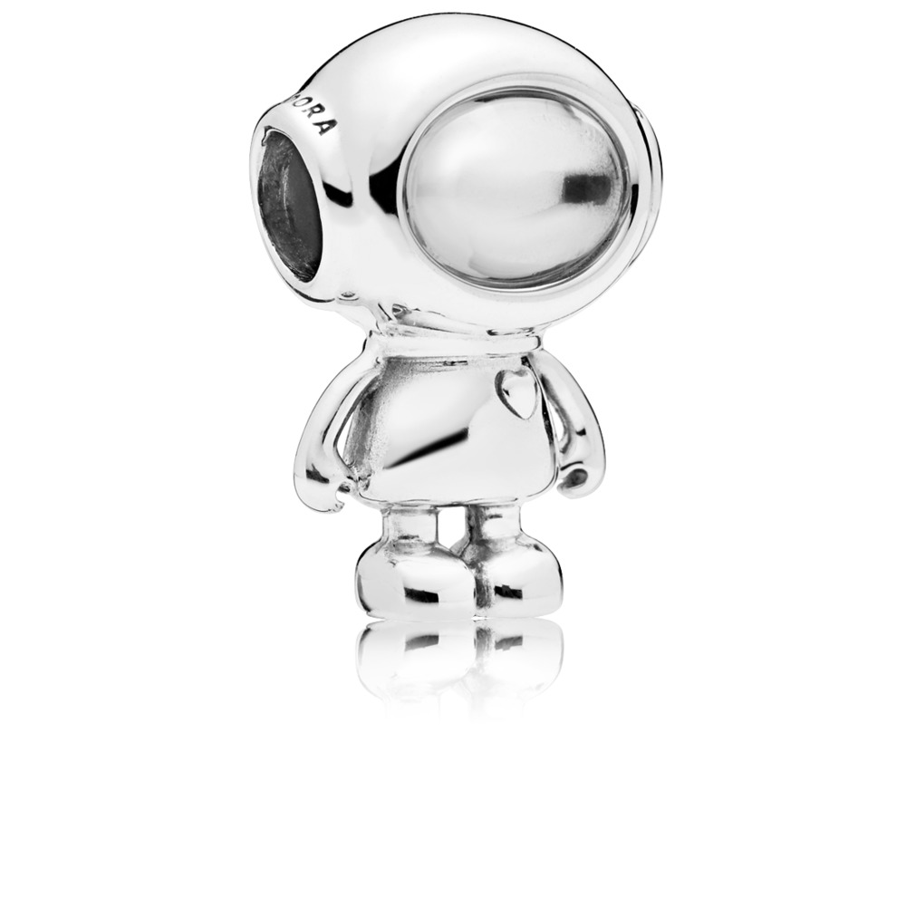 Cosmo Tommy Charm, Clear CZ, Sterling silver, Cubic Zirconia - PANDORA - #797561CZ