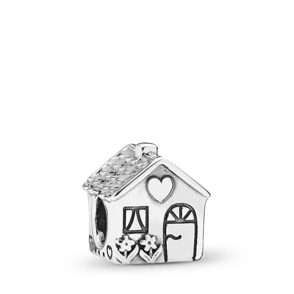 Home, Sweet Home Charm, Sterling silver - PANDORA - #791267
