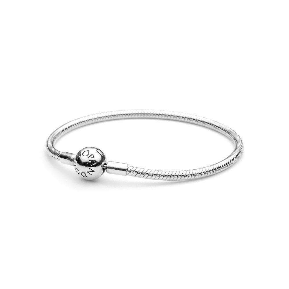 48445acef Smooth Sterling Silver Clasp Bracelet