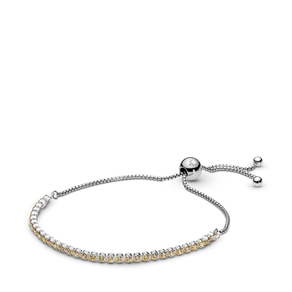 ff0f666a4fe9 Golden Sparkling Strand Bracelet