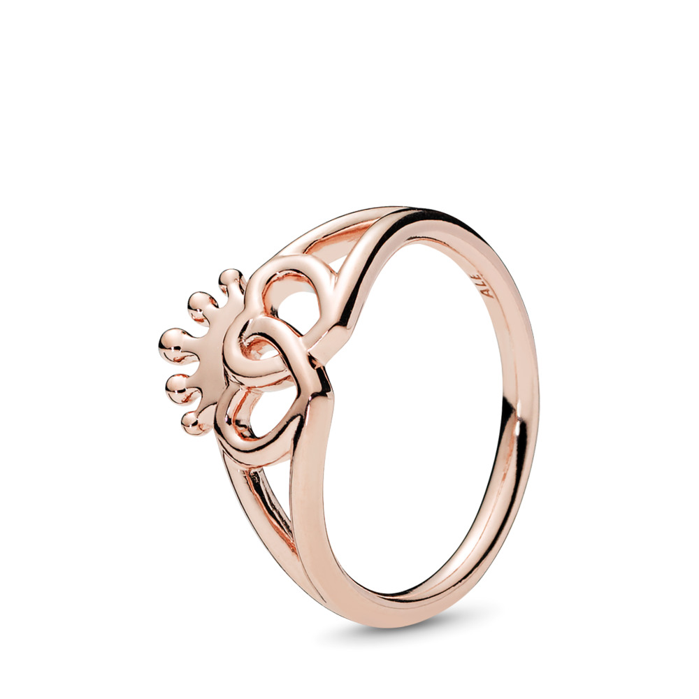 United Regal Hearts Ring, PANDORA Rose™, PANDORA Rose - PANDORA - #187685