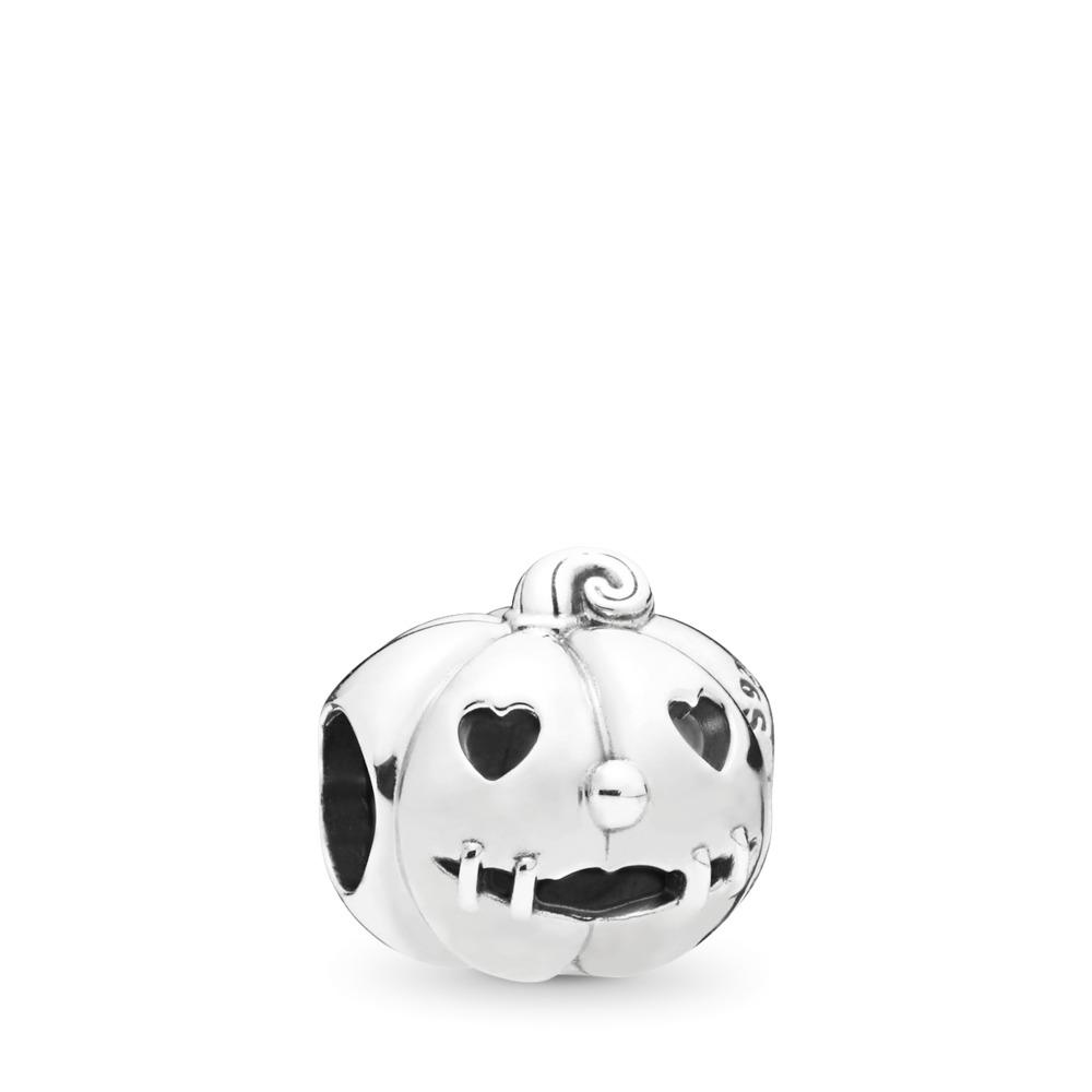 Sweet Pumpkin Charm, Sterling silver - PANDORA - #797596
