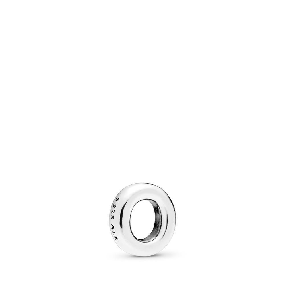 Letter O Petite Locket Charm, Sterling silver - PANDORA - #797333
